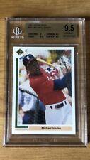 1991 Upper Deck Michael Jordan #SP1 White Sox Baseball Card BGS 9.5 Gem Mint 🔥