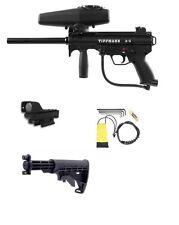 NEW Tippmann A-5 Paintball Gun W/ Red Dot Sight & Carbine Butt Stock A5 Sniper