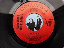 7'' Pacific Gas And Electric Elvira On Columbia Ex (Rock)