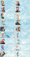60 Disney Frozen pictures personalised name label (Large size)