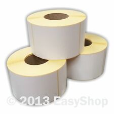 More details for 102mm x 152mm white thermal direct zebra printer labels 1000 per roll 76mm core