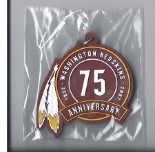Washington Redskins 75th Anniversary Logo Keychain 1932-2007 Rare