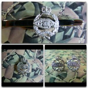 Royal Tank Regiment Lapel / Cuff Links / Tie Bar Gift Set RTR Version 3