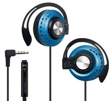 E-books S45 Headphones with Over-Ear Hooks and Mic for Outdoor Sport Running