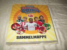 Sammelmappe Topps Bundesliga Chipz 2010 / 2011 nicht vollständig