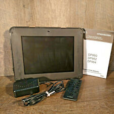 """Coby DP862 Digital Photo 8"""" Frame With Multimedia Playback And Remote"""