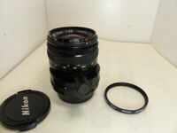 [Near Mint] Nikon PC-NIKKOR 35 mm F2.8 New shift with genuine filter from JAPAN