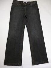 Jeans da donna gamba dritta grigio Denim