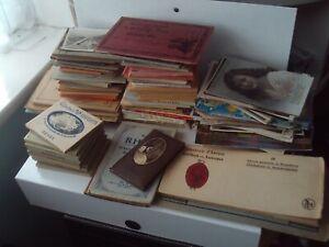 Job Lot Vintage Postcards / Packs Views UK/Europe/America/Canada 1910s Onwards