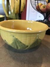 "Vintage Shawnee 6"" Pottery Corn King #6 Mixing Bowl"