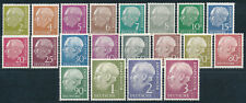 Bundesrepublik Heuss 1954** Michel 177-196 Attest (S14565)