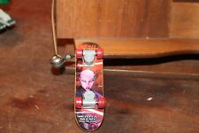 "2010 Asajj Ventress #9 Skateboard 4"" Finger Board McDonalds Star Wars Clone Wars"