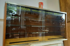 More details for large vintage ronson varaflame gas lighters display cabinet - wall mounted
