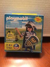 "NIB Playmobil Special Klicky Figurines Accessories Playmo 2.95"" Blue Knight 5792"