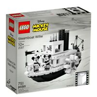 LEGO Mickey Mouse 21317 Steamboat Willie 90 Years Ideas 2019 NEW OFFICIAL SEALED