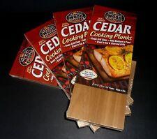 100% Natural Premium Cedar Cooking Planks Grilling BBQ Seafood Veggies 8 PLANKS