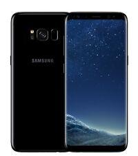 New-In-Box Samsung Galaxy S8 Cell Phone (Factory Unlocked/ BLACK /SM-950U1ZKAX)