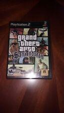 Grand Theft Auto San Andreas PS2.