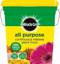 MIRACLE GRO ALL PURPOSE 2KG CONTINUOUS RELEASE PLANT FOOD FEED 2KG