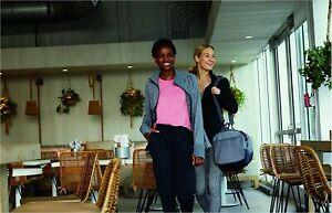 Women's Full Zip Cardio Jacket, Ebony, Size Large RsmR