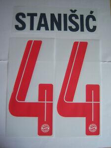 FC Bayern München orginal Flock Stanisic 44 Champions League 2021/22Gr.128bis152