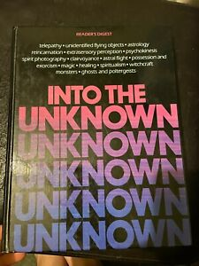 Into the Unknown Readers Digest 1982 Hardcover Book Telepathy Spiritualism Magic
