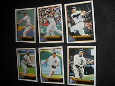 2011 Topps Lineage Detroit Tigers Team Set 6 cards NrMt