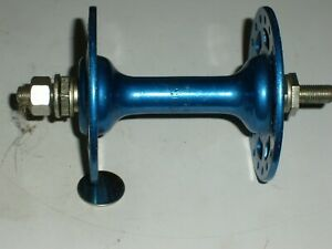 old school nos blue front high flange Sunshine 36 hole bmx bike hub