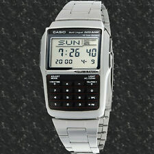Casio DBC32D-1A Steel Databank Watch Calculator Illuminator 25 Page BRAND NEW