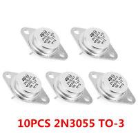 10pcs 2N3055 NPN AF Amp Audio Power Transistor 15A OT9 SP