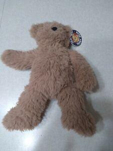 "Vermont Teddy Bear Company Plush Bear Light Brown 12"""