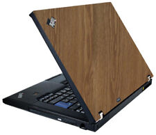 WOOD Vinyl Lid Skin Cover Decal fits IBM Lenovo ThinkPad T61 Laptop