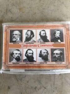 Confederate Commanders, Magnet, Civil War, New