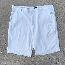 Adidas Mens Light Beige Athletic Golf Shorts Size 35