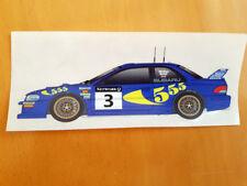 1998 WRC World Rally Car GB Round Colin Mcrae Subaru Impreza Car Vehicle Sticker