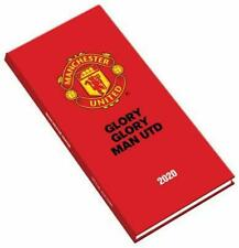 Manchester United FC Official 2020 Slim Diary Man Utd Red