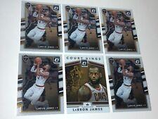 Lebron James 2017-18 Donruss Optic 6 Cards Lot