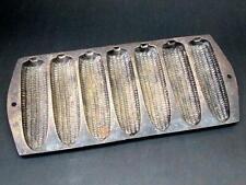Vintage Antique Cast Iron Corncob Cornbread Pan