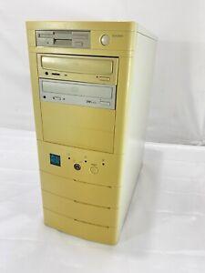 Vintage Desktop PC Computer Tower Vextrec Inside - NOT TESTED!