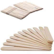 100pcs Disposable Wooden Tongue Depressor Waxing Spatula Wax Stick Medical New