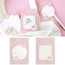 Cute Cherry Blossoms Memo Pad Sticky Notes Stationery Supplies Hot School O Q5M3