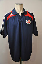 adidas USA MLS jersey Trikot Shirt Gr. XL New England Revolution Polo