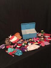 Vintage Lot Barbie Doll Clothes Accessories shoes fur Items Case Attic Find