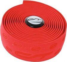 Puños y cintas rojas universal para manillar de bicicletas
