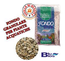 Fondo Fertilizzante per Acquario Blu Bios 3 Litri Granulare Piante Acquatiche