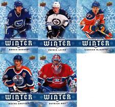 2017 Upper Deck Winter 10 Card Set Gretzky Mcdavid Boeser Laine Roy Lebron