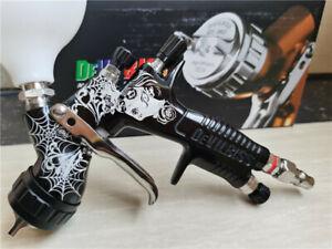 Pistolet à peinture Devilbiss GTI Pro LITE (édition limitée) TE20 PRO bleu