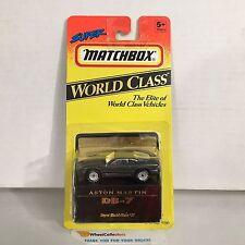 Aston Martin DB-7 * Grey * Matchbox World Class * NF5