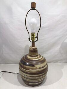 MARSHALL STUDIOS GORDON & JANE MARTZ POTTERY TABLE LAMP Mid Century Modern