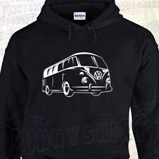 SWEAT à Capuche COMBI VW Volkswagen Split Camper Bus Type 1 60's 70's Westfalia